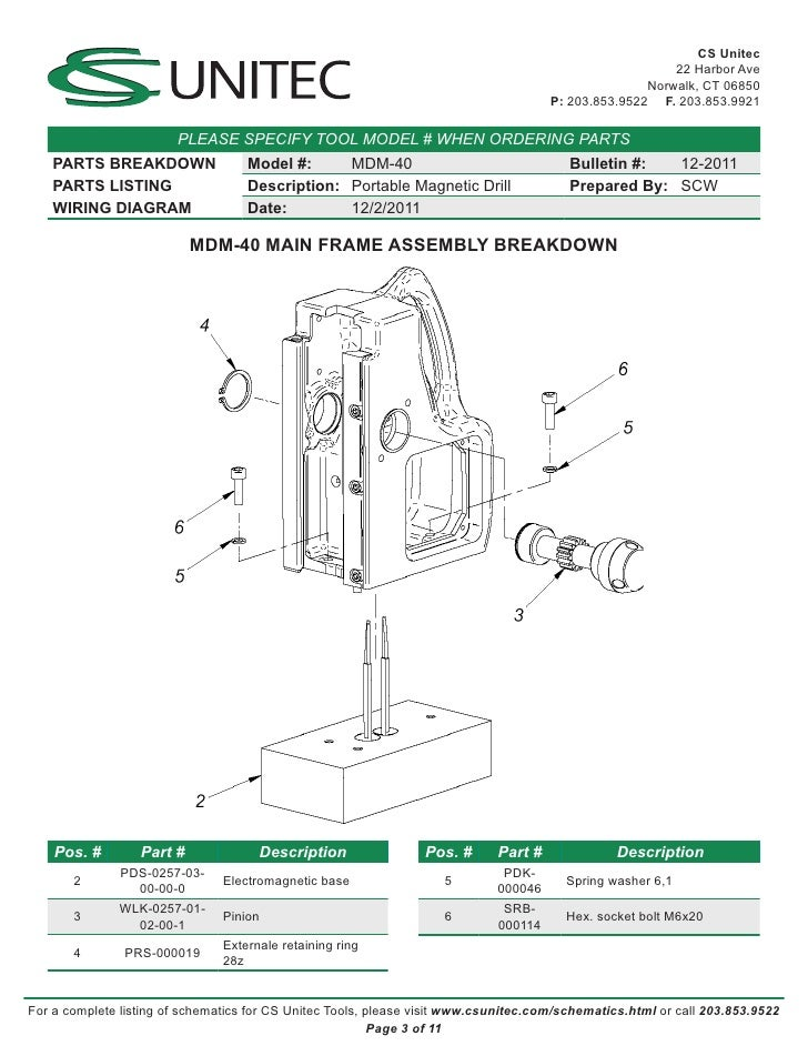 cs unitec electric magnetic drills schematic mdm40 3 728?cb=1333027901 cs unitec electric magnetic drills schematic mdm 40 Dimmer Switch Wiring Diagram at crackthecode.co