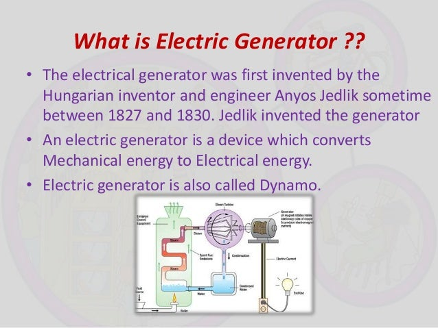 Principle Of Electric Motor And Generator