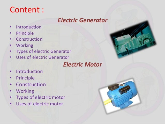 electric motor physics. Electric Motor Physics