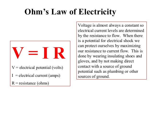 10 Voltage Is Almost Always A Constant So Electrical