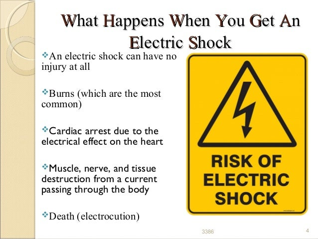 Lightning 33386 4 WWhathat HHappensappens WWhenhen YYouou GGetet AAnn EElectriclectric SShockhock An Electric Shock