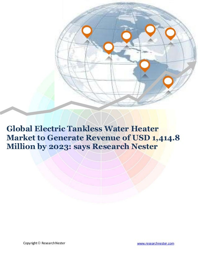 electric tankless water heater market to generate revenue of usd 1,41…