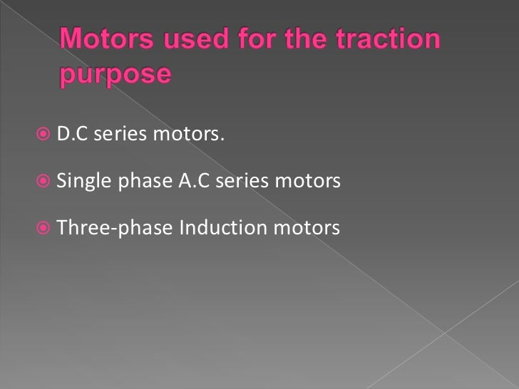 1. The construction cost of an ac series motor is muchmore easier than of a dc series motor.2. The starting torque of a.c ...