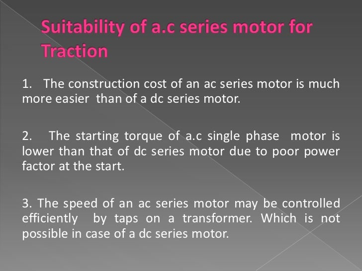  Short form of SEParate EXcitement  of traction  motors where the armature and field coils of  an electric motor are fed ...