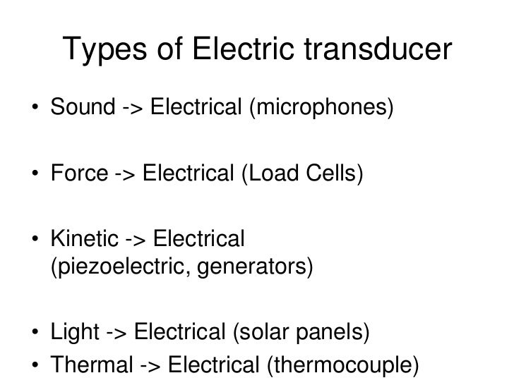 Electric transducer