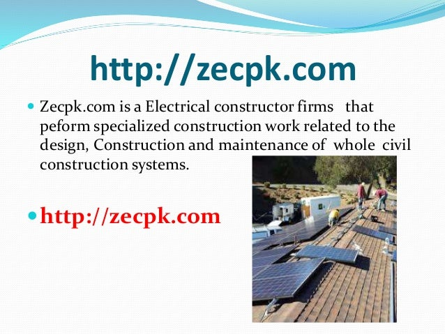 Best Electrical Constractor in Lahore Pakistan