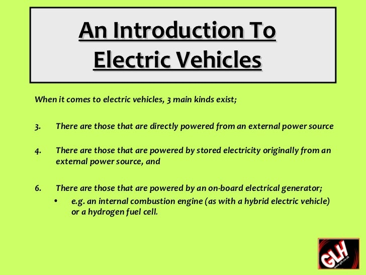 an introduction to the benefits of electric vehicles Introduction and adoption of products and services supporting grid flexibility the  electric vehicle  group, a range of benefits that electric vehicles can offer are.
