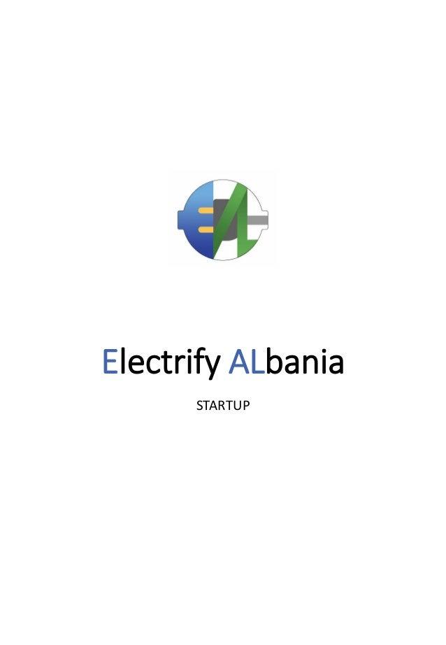 Electrify ALbania STARTUP