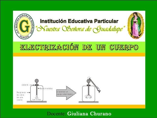 Docente: Giuliana Churano L a m in illa s B a r r a m e t á lic a a is la n t e R e c ip ie n t e d e v id r io s in a ir ...