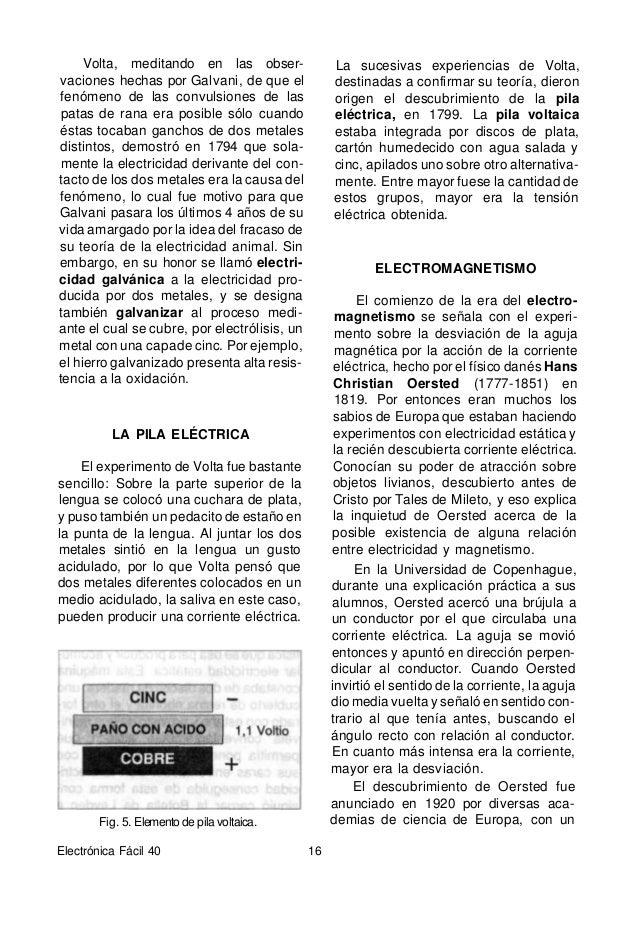 Fig. 6. Se puede utilizar una brújula para determinar cuándo está circulando corriente continua por un conductor, ya que é...