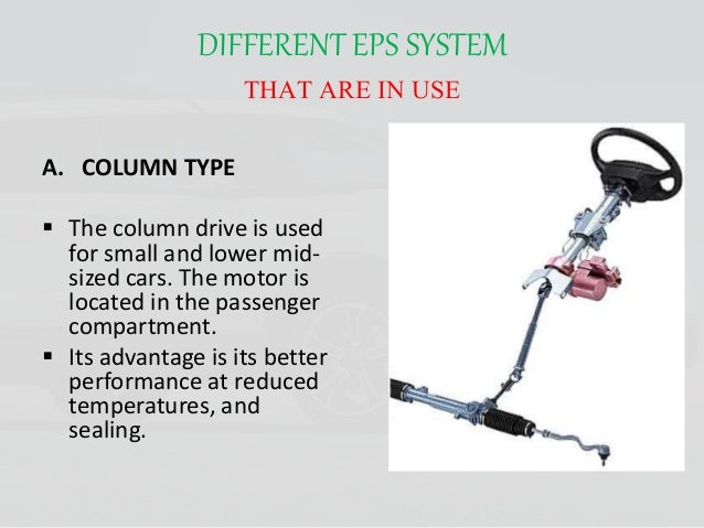 electro mechanical steering system most advance technology types of steering wheels chapter 46 steering systems ppt download