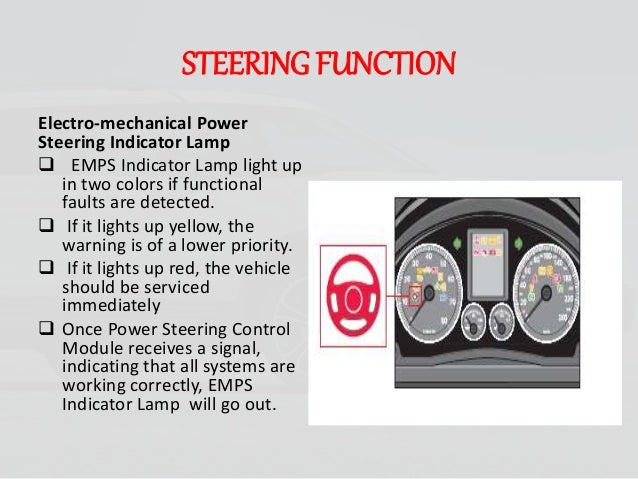 Electro mechanical steering system- most advance technology
