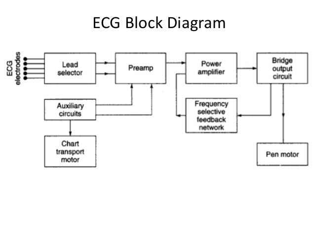 electro cardiogram ecg rh slideshare net block diagram of ecg and explanation block diagram of ecg machine ppt