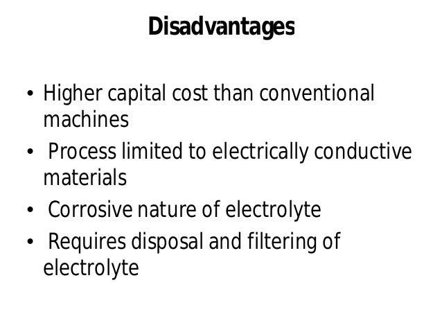 Electrochemical grinding (ecg)