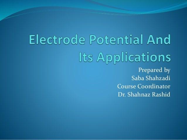 Prepared by Saba Shahzadi Course Coordinator Dr. Shahnaz Rashid