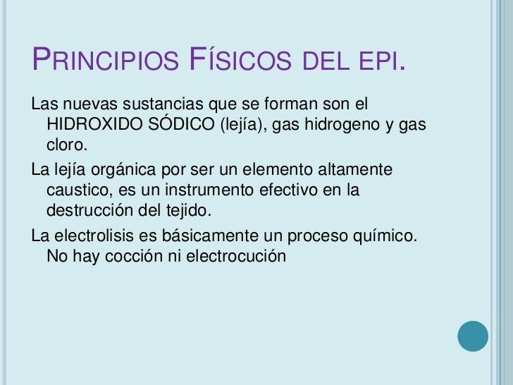 EFECTO BIOLÓGICO   El efecto biológico producido por la EPI es    básicamente garantizar la respuesta    inflamatoria, re...