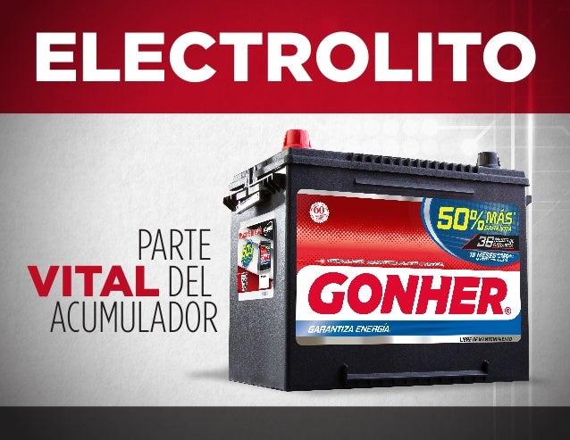 PARTE VITAL DEL ACUMULADOR ELECTROLITO