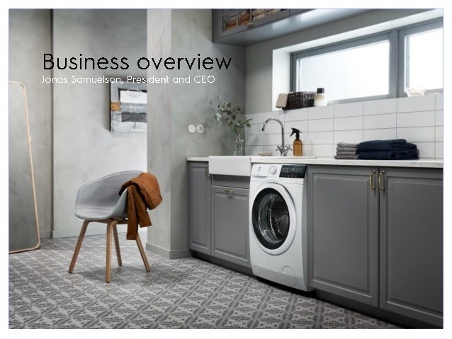 4 Profitable growth in Premium Laundry through focus on clothes care, leveraging innovation and connectivity solutions New...