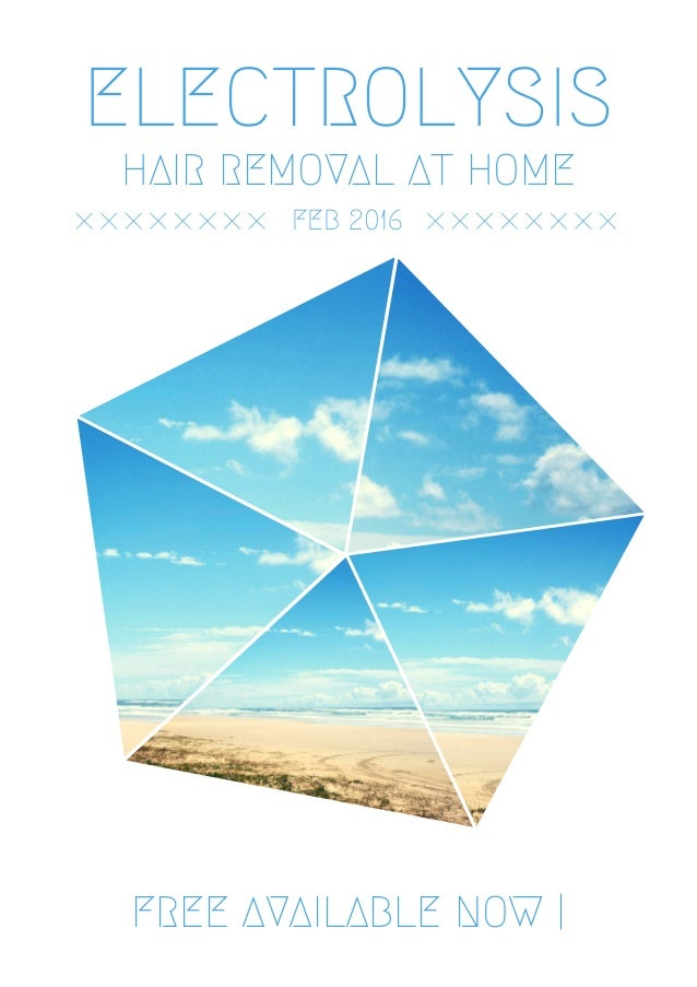 Electrolysis hair removal at home