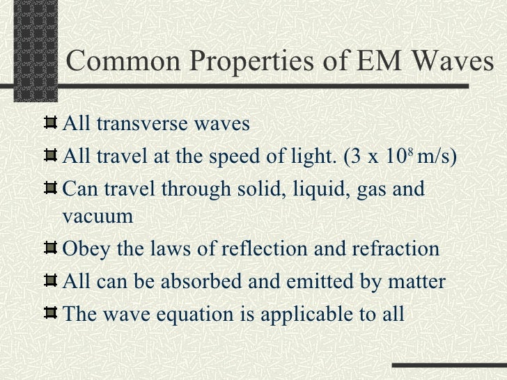 properties of light essay The incandescent light to phase out incandescent light bulbs essay - the government should phase out many favorable properties of tungsten such.