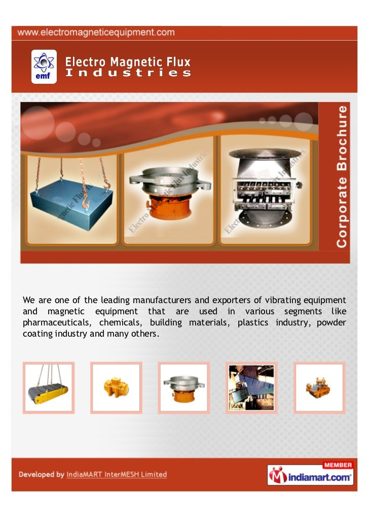 We are one of the leading manufacturers and exporters of vibrating equipmentand magnetic equipment that are used in variou...