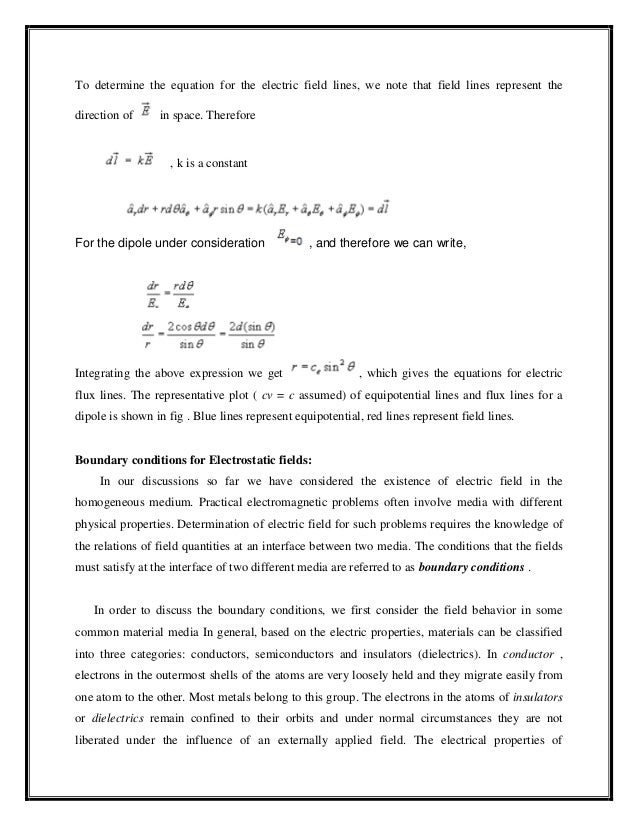 Electromagnetic Theory(Field Theory) - EEENotes2U