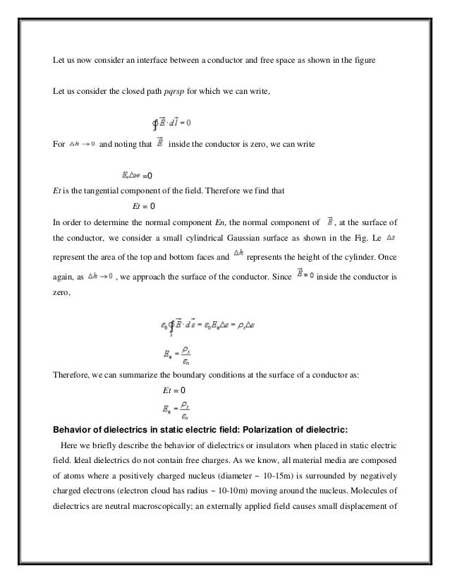 Electromagnetic Field Theory Lecture Notes