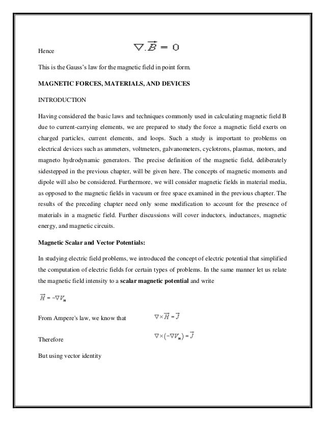 electromagnetic theory lecture notes pdf