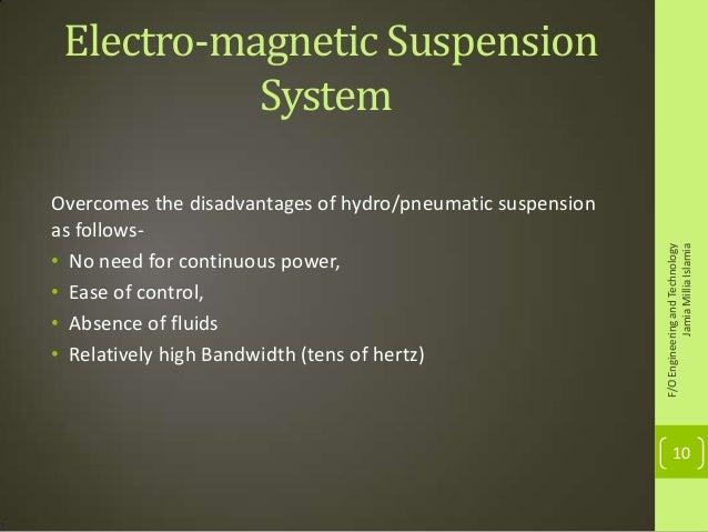 electro magnetic suspension Manufacturer of electro magnetic equipment - electro magnetic pulley, suspension electro magnet (oil cooled), electro suspension magnet (air cooled) and electro oil cool suspension magnet.