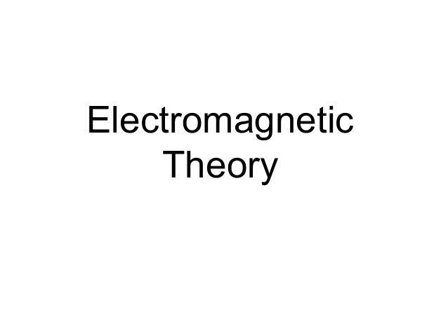 ElectromagneticTheory