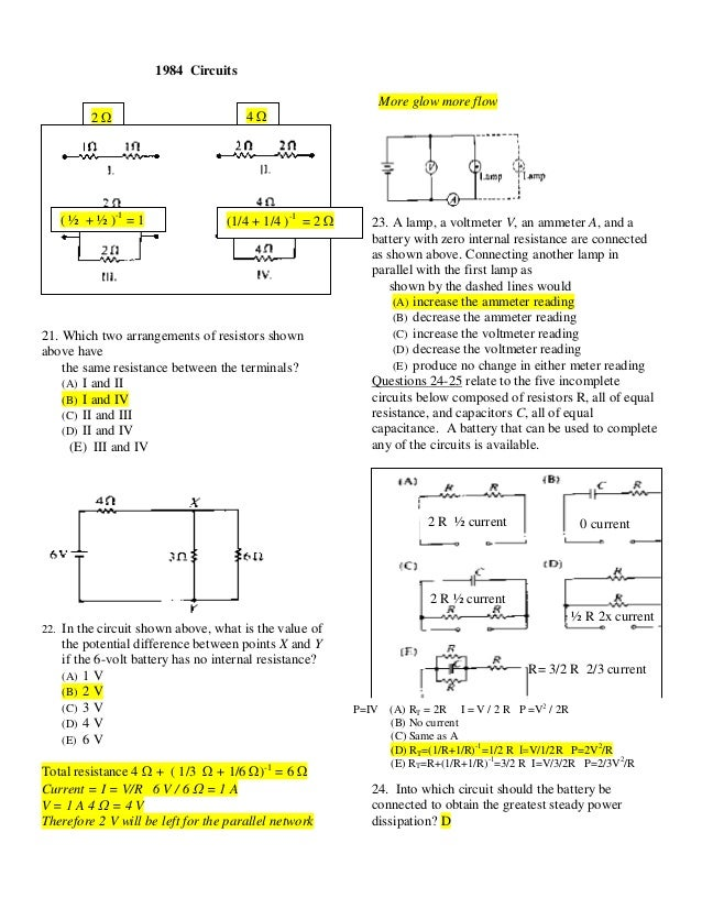 electromagnetism ap multiplechoiceanswers2011 1 rh slideshare net
