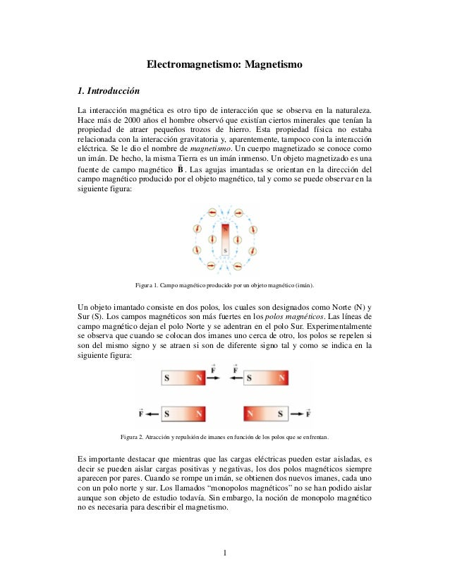 Electromagnetismo Magnetismo