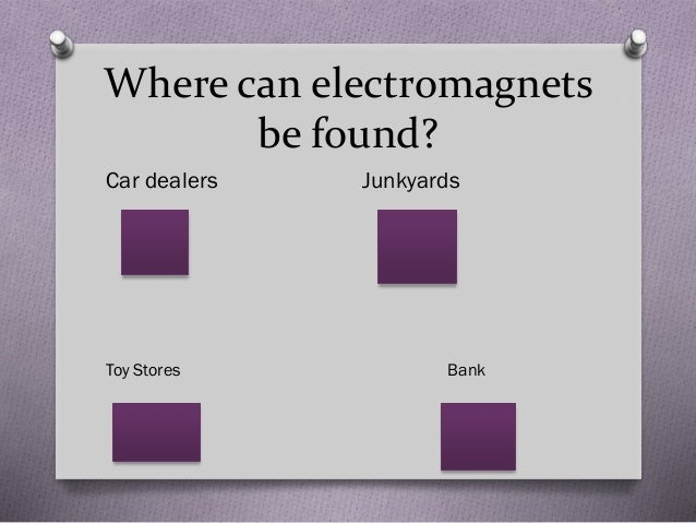 coursework bank electromagnets