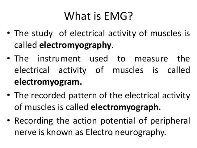 EMG Slide 3