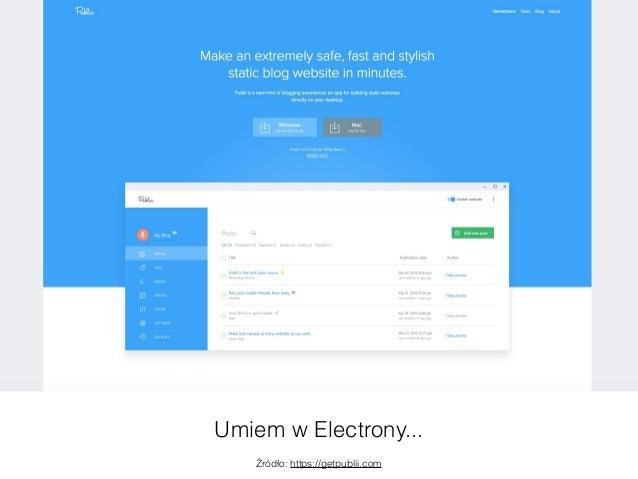 Electron + WordPress = ❤ Slide 3