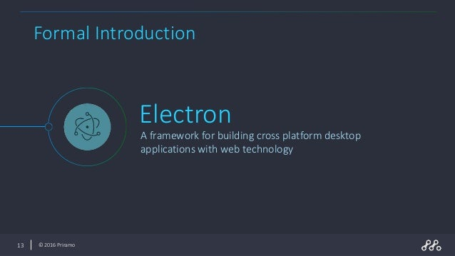 Electron - Build cross platform desktop apps