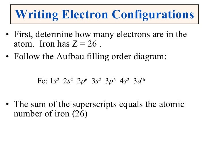 How to Write the Electron Configuration for Oxygen