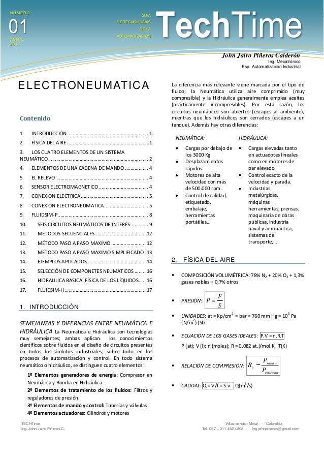 TECHTime Villavicencio (Meta) - ColombiaIng. John Jairo Piñeros C. Tel. 057 – 311 452 4808 - Ing.johnpineros@gmail.comCont...