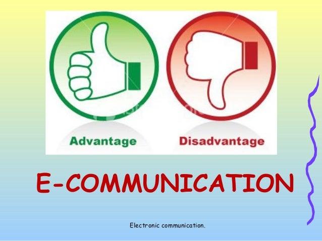 e communication