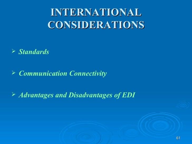 electronic data interchange advantages and disadvantages pdf