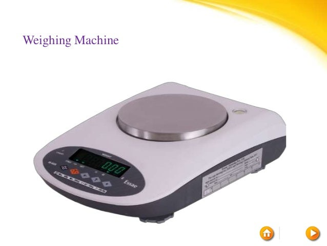 Electronic Weighing machine dealers in Bangalore