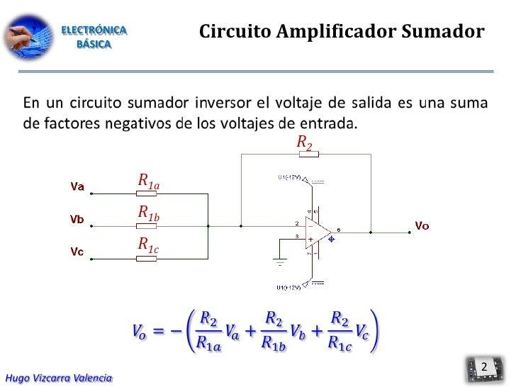 Circuito Yes : Circuito amplificador sumador