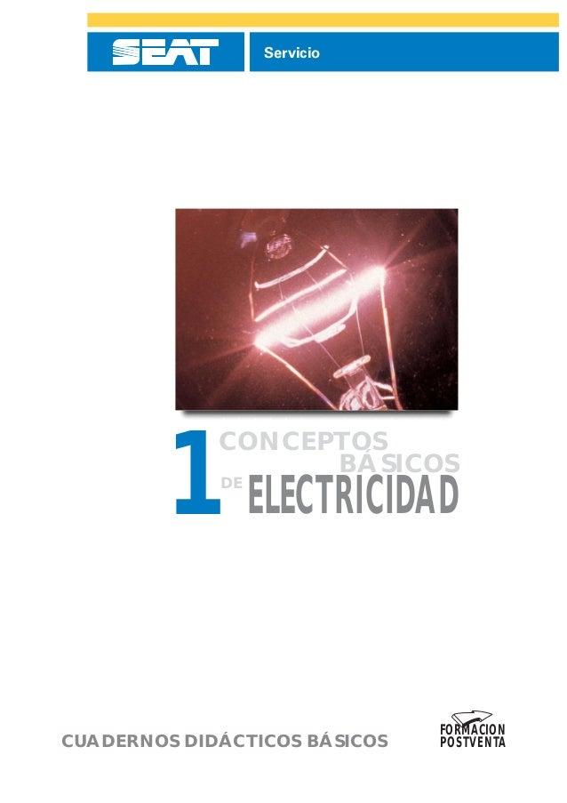 Servicio         1 ELECTRICIDAD             CONCEPTOS                   BÁSICOS             DE                            ...