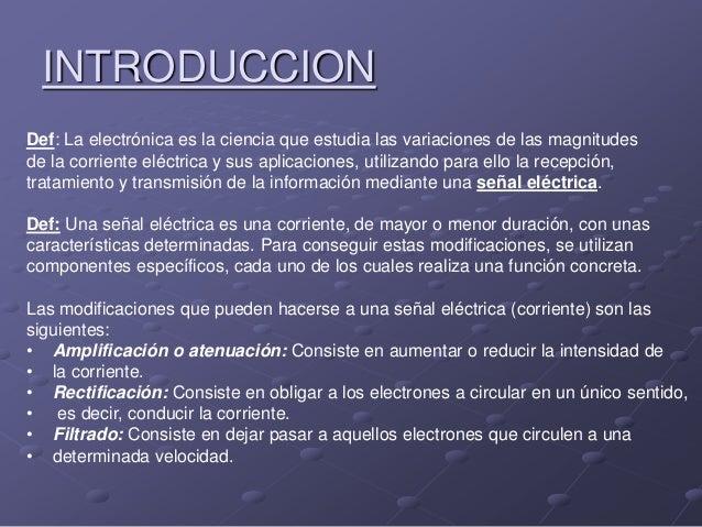 Electrónica analógica Slide 2