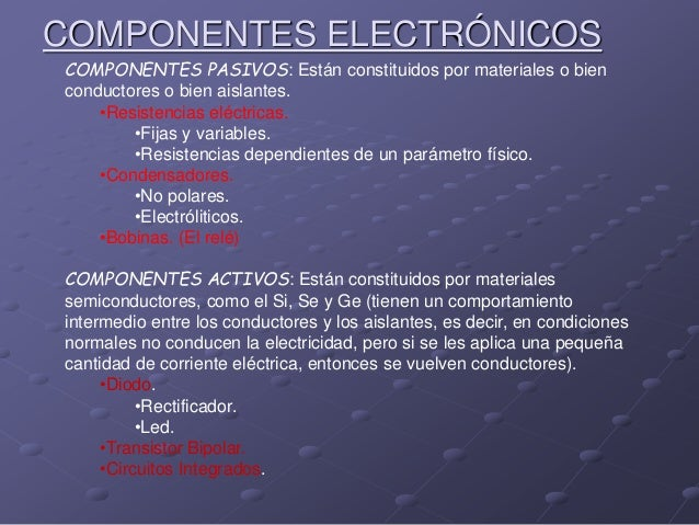 Electrónica analógica Slide 3