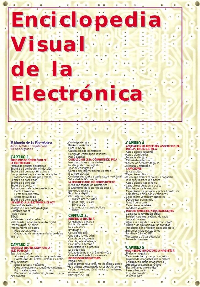 EnciclopediaV isualde laElectrónicaEl Mundo de la Electrónica                       Corriente eléctrica                   ...