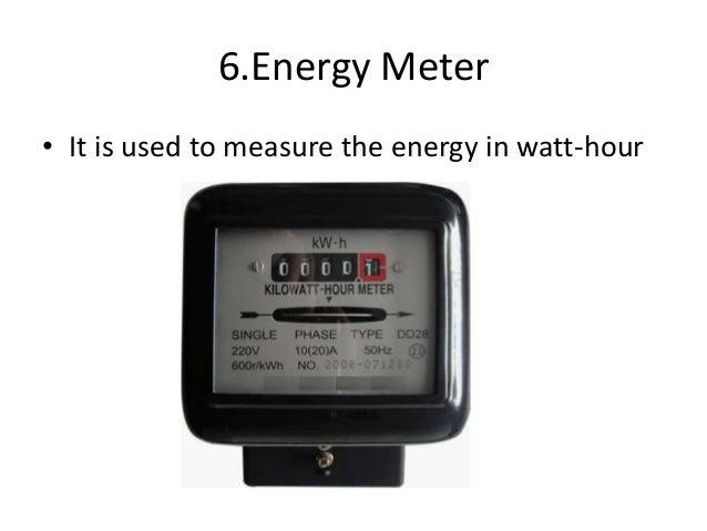 Watt Hour Meter Circuit