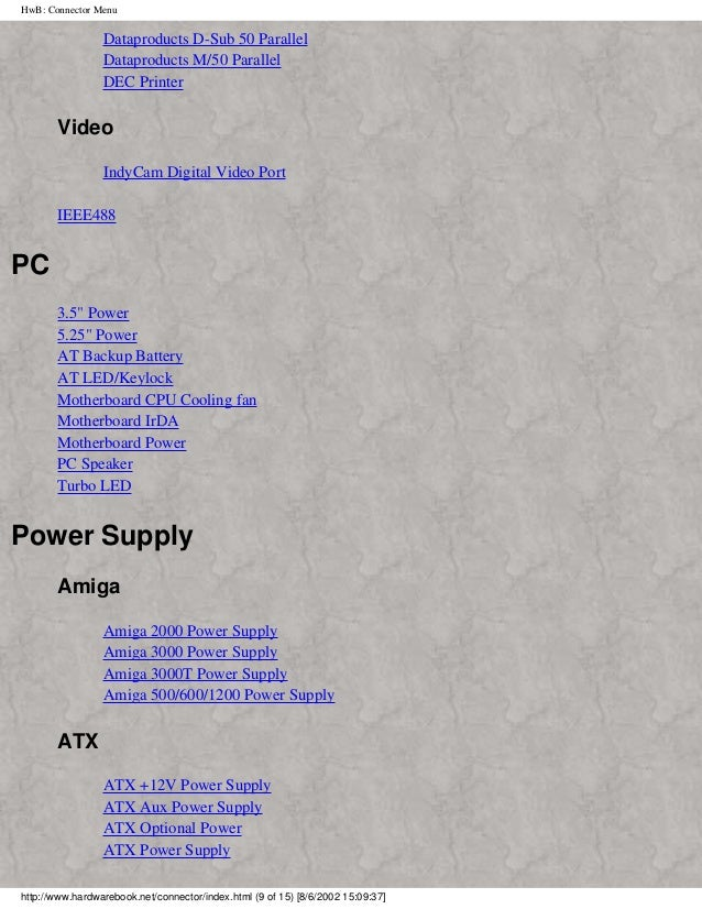 Old Fashioned Ata Power Supply Pinout Image - Schematic Diagram ...