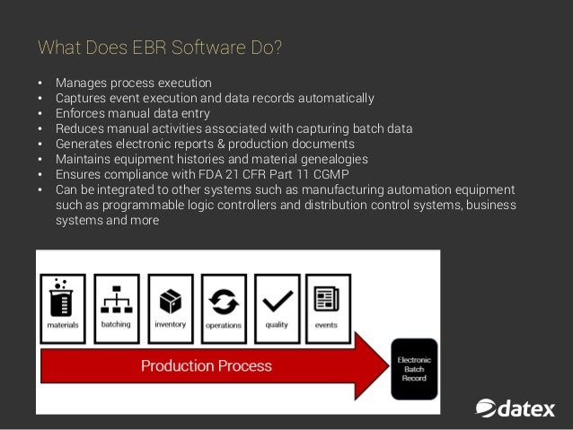 Basics of EBR: What Are Electronic Batch Records?