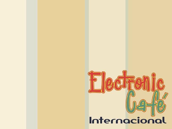 """Trabalho: """"Electronic Café""""  Disciplina: Plástica  Professor(a): Adeline  Curso: 2º ano Design Digital  Alunos:    Diego L..."""